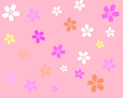 花柄 背景