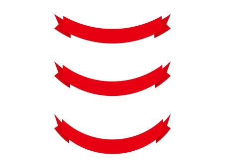 Ribbon 19 - red