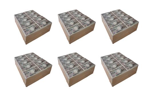 Cash 600 million yen