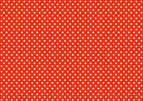 Polka dot red dot pattern