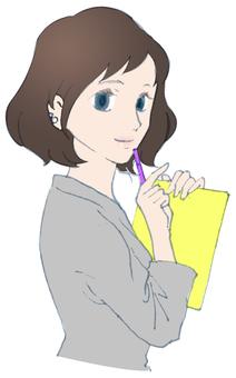 Female staff Job