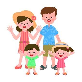 Family trips to tropics
