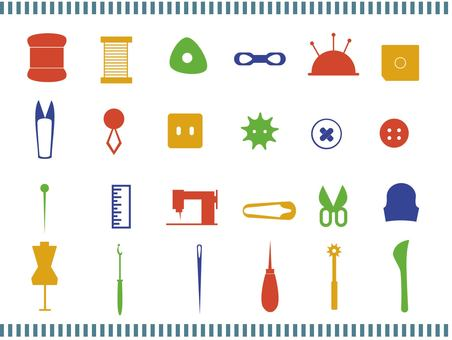 Sewing tool icon