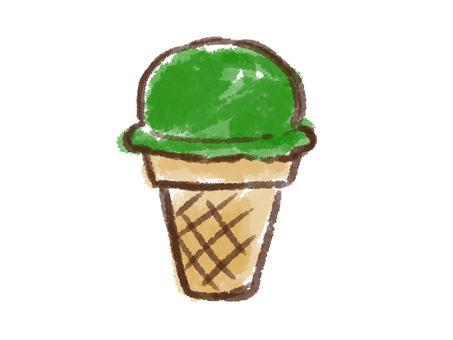 Crayon Series [Ice / Matcha]