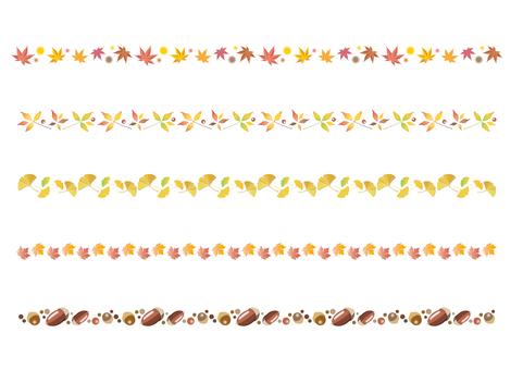 가을 장식 괘