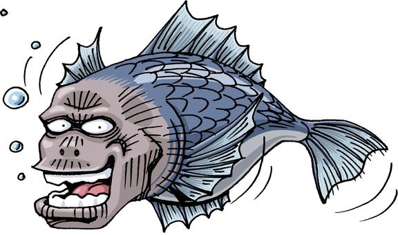 UMA human fish