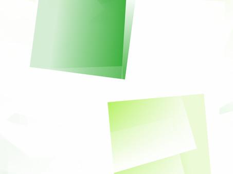 Calm design of green tones