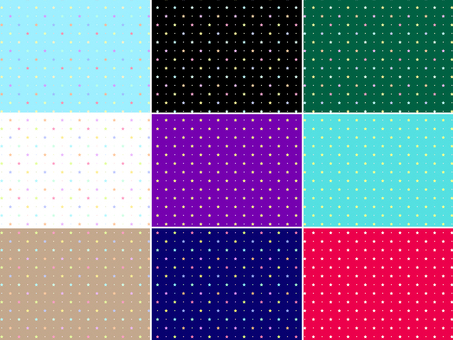 ai Star pattern with swatch Background Conclusion