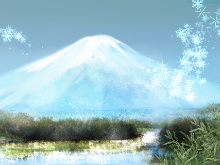 Mount Fuji (winter)