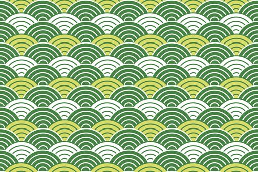 緑 波 背景