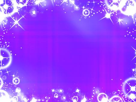 Glittering purple
