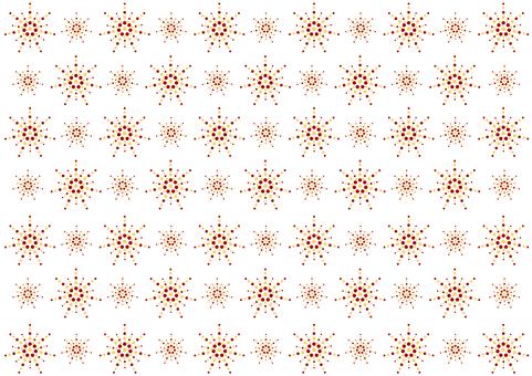 Wallpaper - flower ball - red yellow