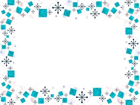Nostalgic frame square crystal 2