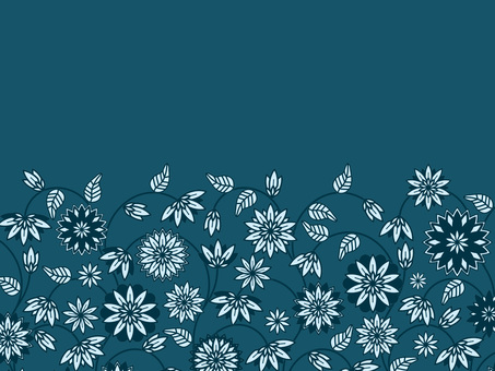 Botanical pattern wallpaper 47