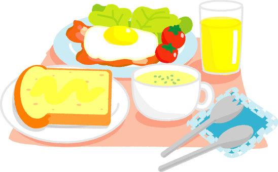 Ideal breakfast (Western food)