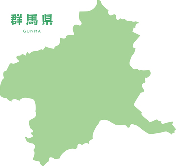 Map of Gunma Prefecture