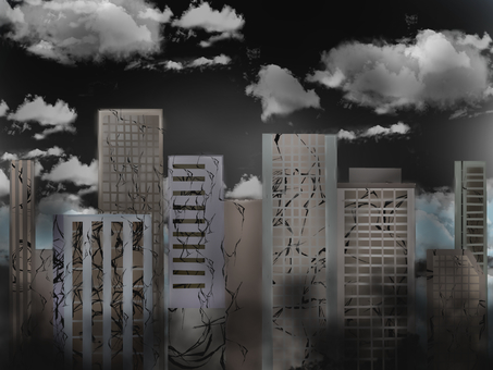 오염 된 도시