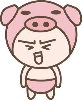 Swine character 3