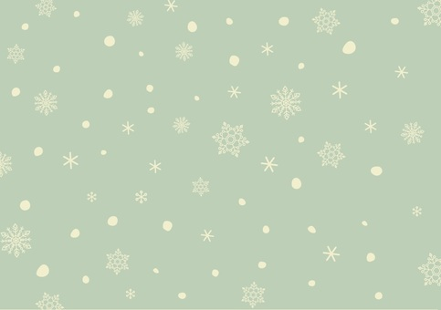 Snow crystal background