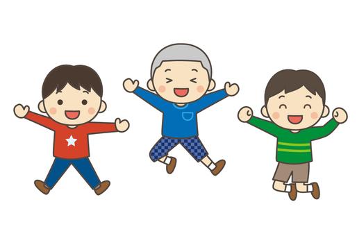 Children to jump