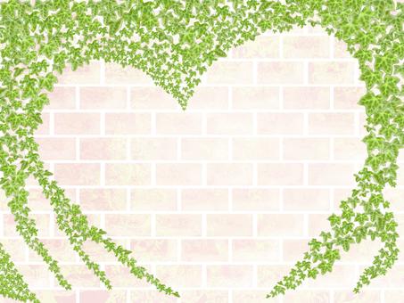 Brick and ivy frame