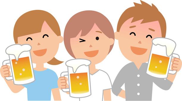 90608. 맥주 건배 3