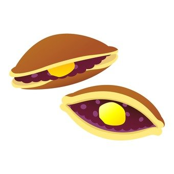 Grilled chestnut dorayaki