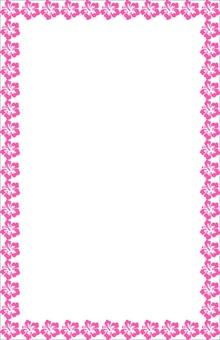 Summer Okinawa Hibiscus (pink)