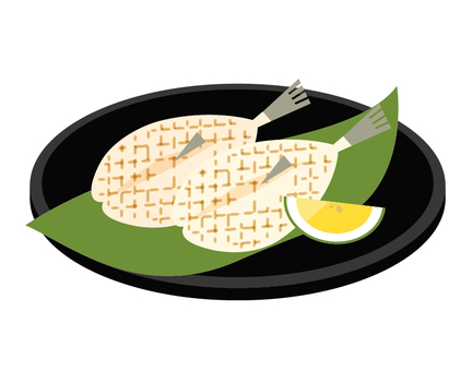 Fugu overnight dried