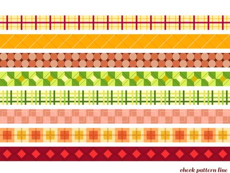 Check pattern Fall 02