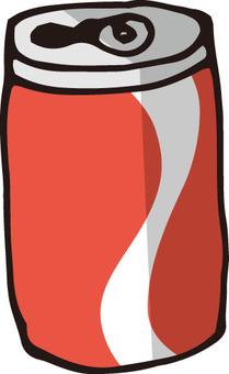 Empty can (juice)