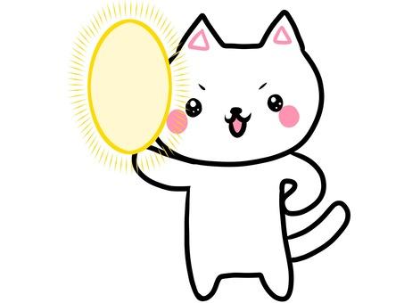 Boast white cat series
