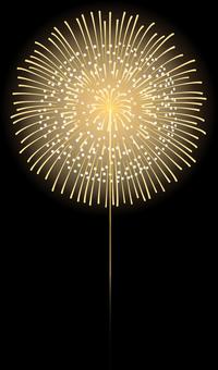 ai Fireworks display 16 crimp core cut and core