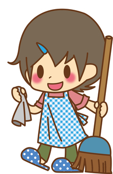 Boy * Cleaning