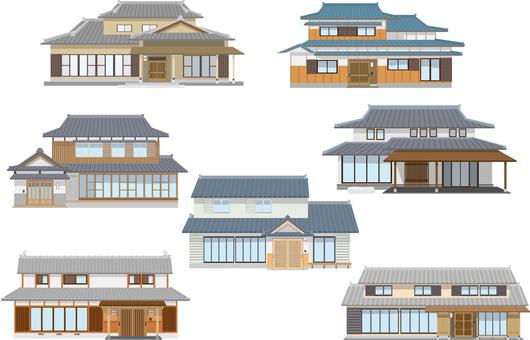 日本家屋まとめセット