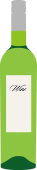 Bottle of wine (white)