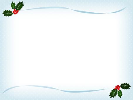 Christmas card polka dots