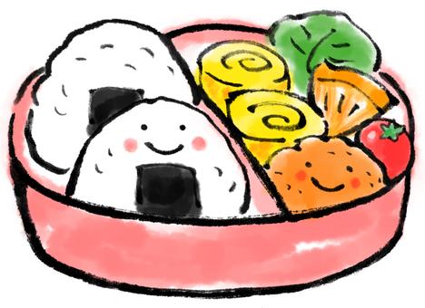 Onigiri lunch box 2
