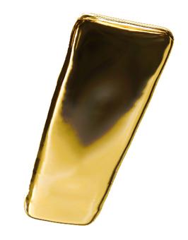 Gold bullion rod