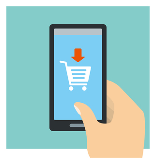 Shopping on smartphone