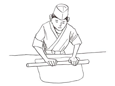 Soba Noodle maker 01