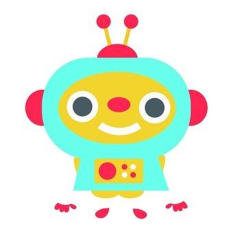 Blue robot you