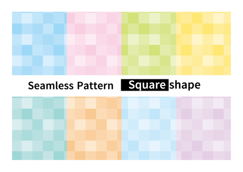 Square mosaic pattern seamless