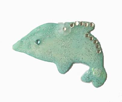 Pla version of dolphin (light green)