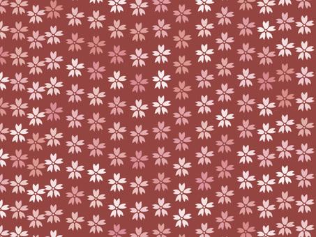 Chiyogami Sakura 1 (Red)