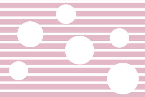 Pink stripes and polka dots