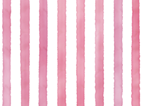 Watercolor border (thick) pink