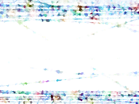 Rainbow Particle 3 Blue Frame 3