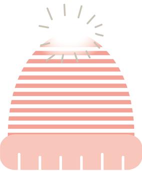 Knit hat _ pink