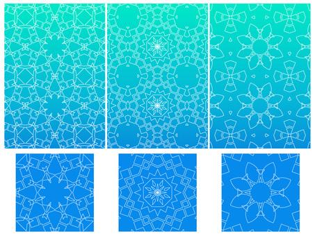 Line geometric pattern set 1